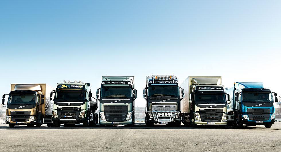 Volvos lastbilar har utsläppsproblem