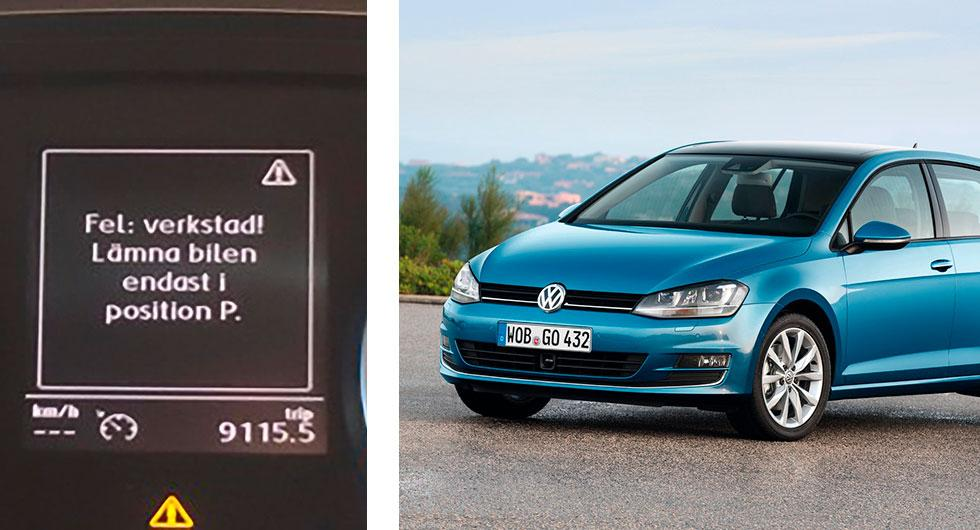 Bilfrågan: Vad är VW-felet?