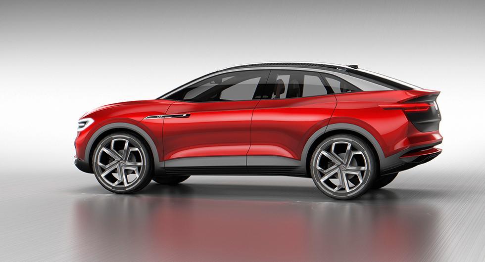 Konceptversion av Volkswagens kommande elsuv, T-Crozz. Biltillverkaren tror på en 50-procentig suv-andel i den framtida försäljningen.