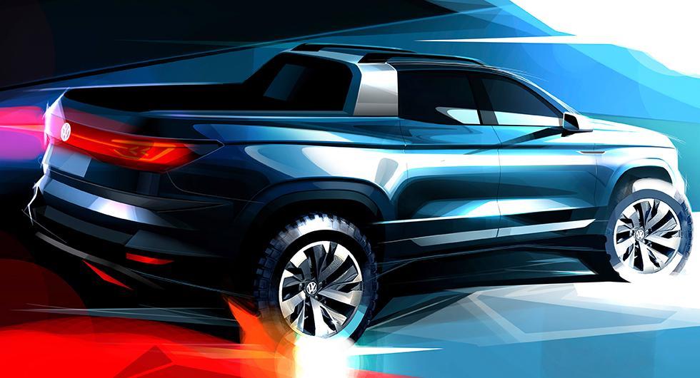 Liten pickup från Volkswagen