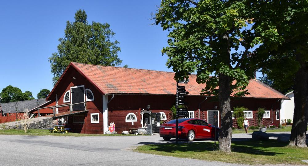 Högbo Bruks friluftsområde norr om Sandviken är ett populärt utflyktsmål.