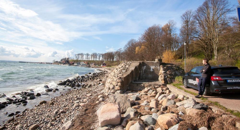 Värn 644 vid pittoreska Ålabodarna – här skulle Hitler stoppas!