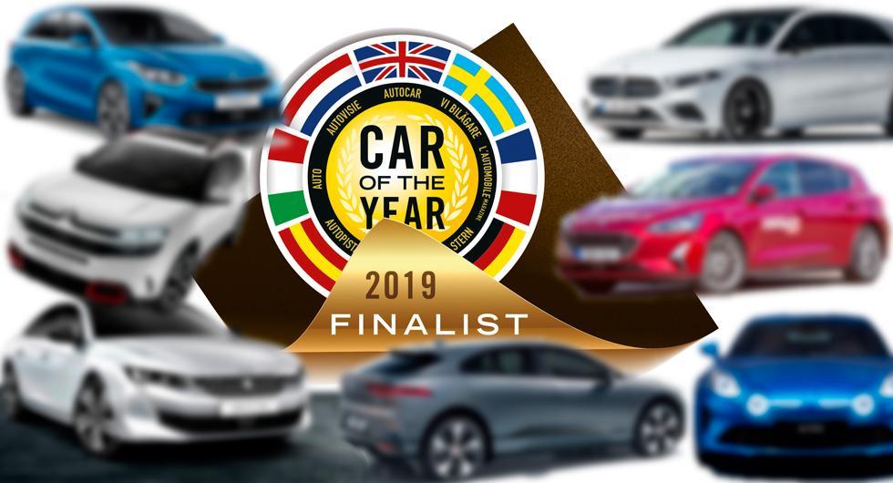 Finalisterna i Årets Bil 2019