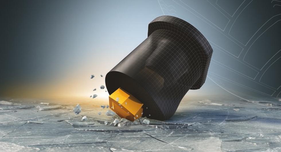 Continental lanserar vinterdäck med gummidubbar