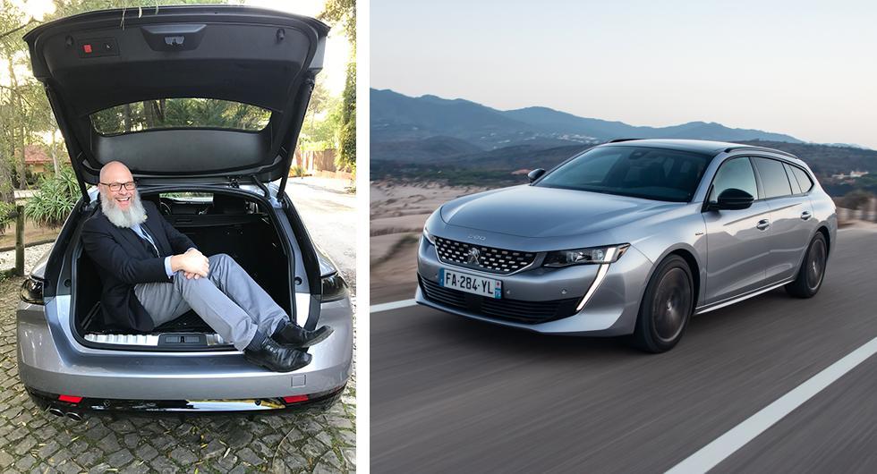 Peugeot 508 SW – rapport från provkörningen