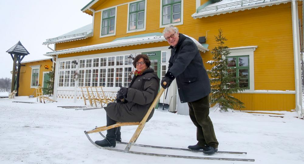 Fjällnäs anrika pensionat lever upp på nytt tack vare Lars och Christina Bertmar.