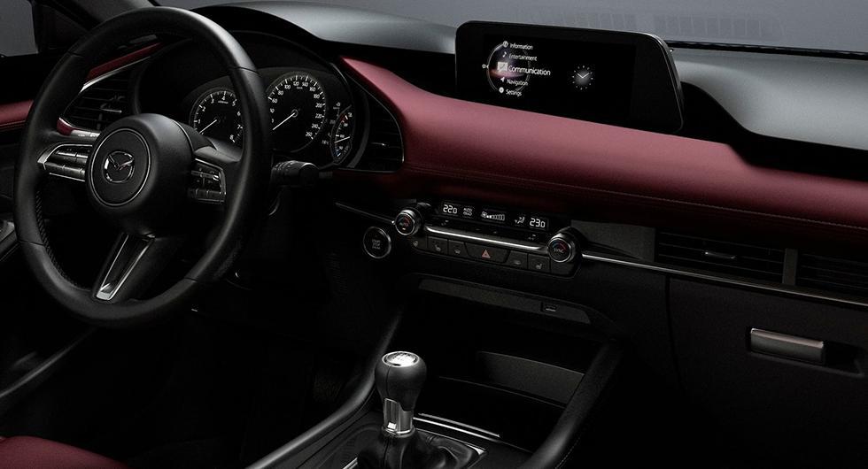 Nytändning för Mazda 3