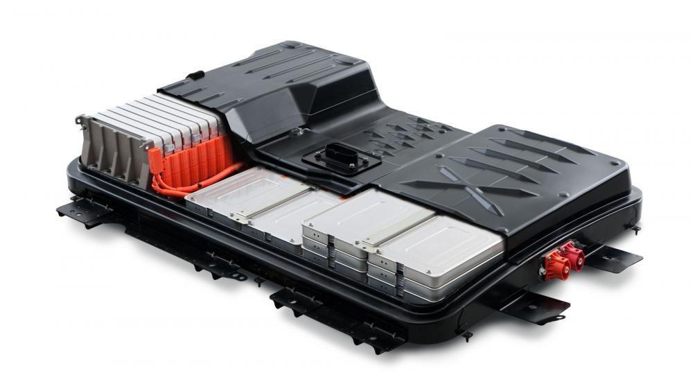 Batteriet till en Nissan Leaf. (Foto: Nissan)