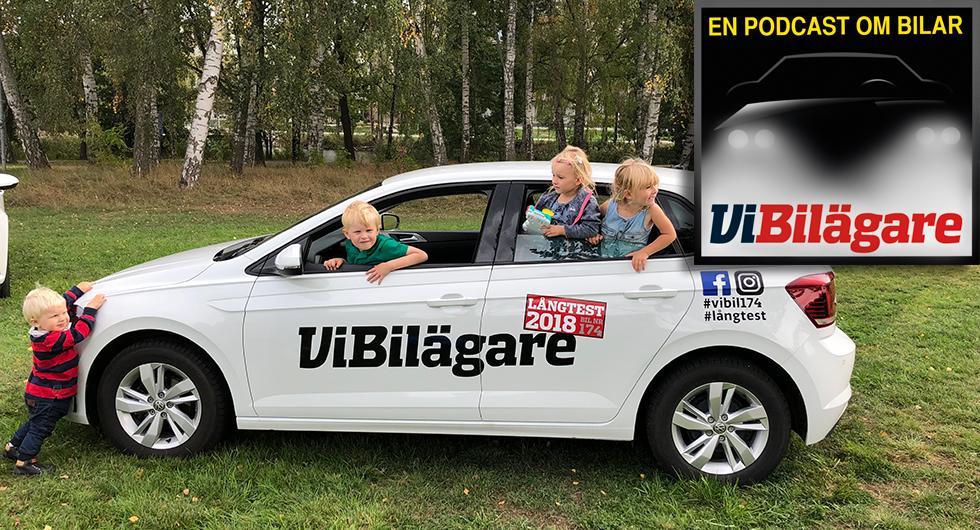Trygga barn och busig bil