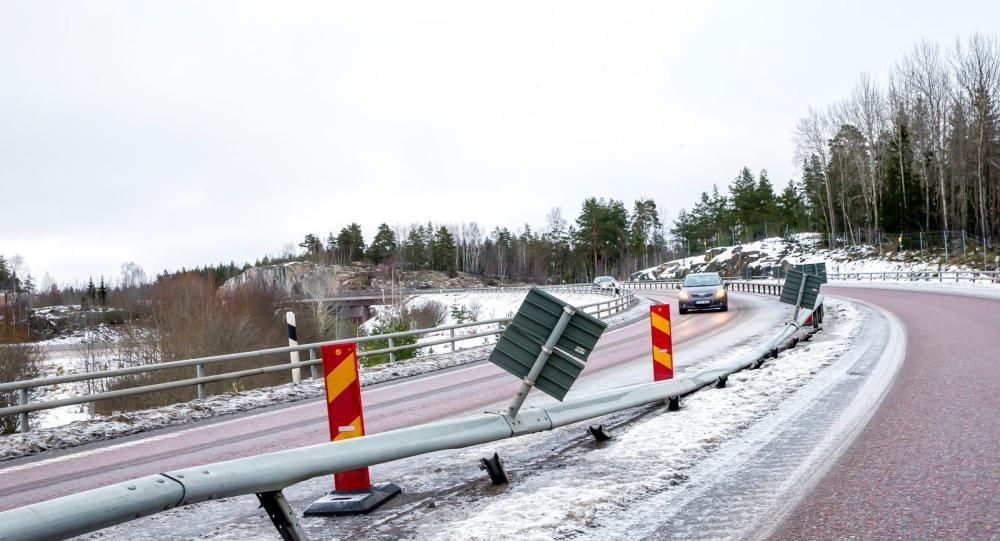 Farliga kurvan med hög vältrisk –som Trafikverket känner till