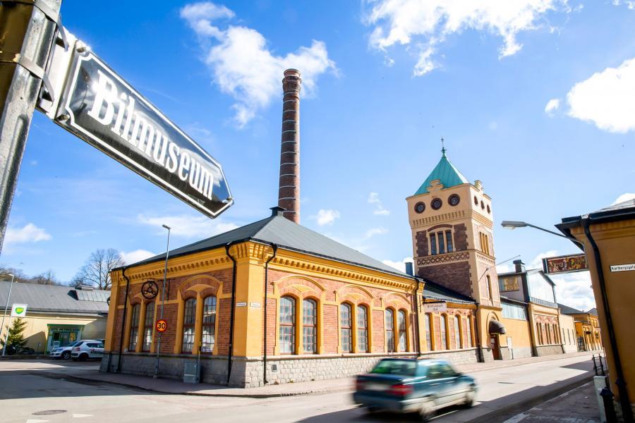 Bilmuseet i pampiga Köpings mekaniska verkstad huserar den halvfärdiga konstruktionen.