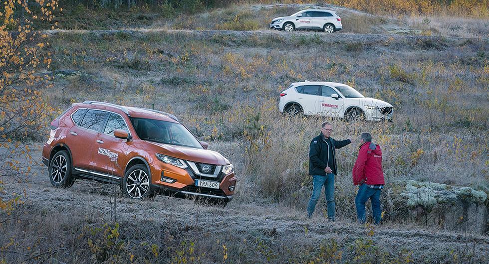 Nissan X-Trail är en av de bilmodeller som går bra på begagnatmarknaden.