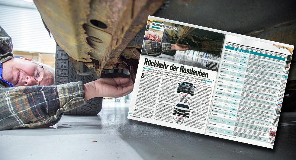 Vi Bilägares rostskyddsexpert Thomas Widström, har intervjuats av tyska motortidningen AutoBild. Tidningen uppmärksammar Vi Bilägares unika rostregister.