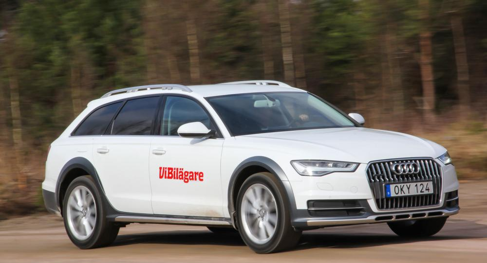 Audi A6 Allroad är en fyrhjulsdriven kombi som passar utmärkt både på motorväg och grusväg.
