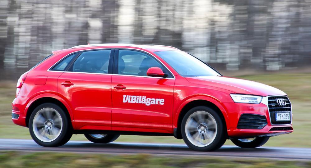 Kompaktsuven Audi Q3 är en eftertraktad begbil.