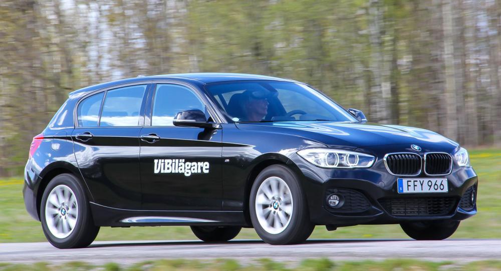 BMW 1-serien är den enda bakhjulsdrivna bilen i Golfklassen. Nästa generation 1-serien väntas få framhjulsdrift.