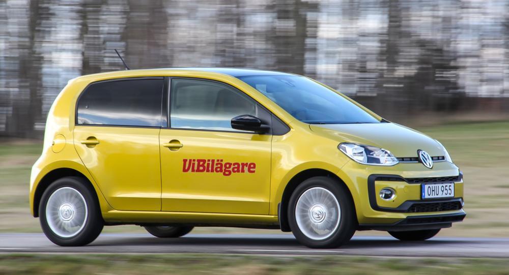Up är Volkswagens minsta bil, ett snäpp under Polo i storlek.
