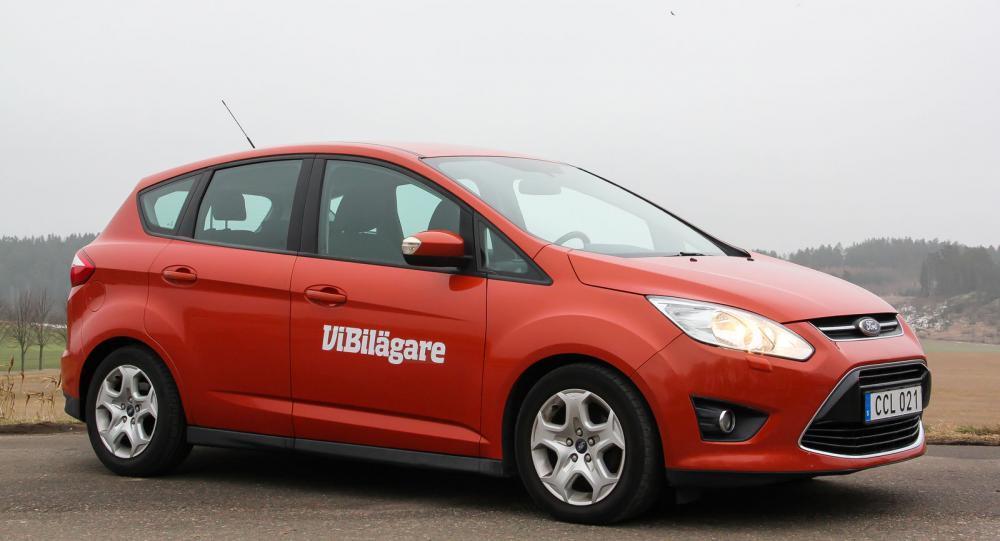 Ford C-Max är en högbyggd bil som inte slagit särskilt väl på den svenska bilmarknaden.