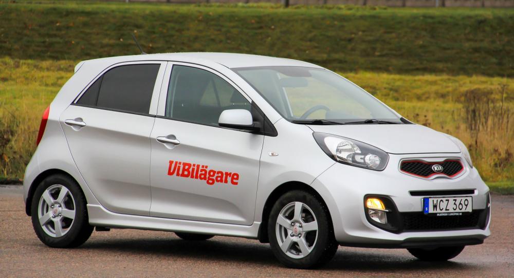Kia Picanto är en bil i minsta storleksklassen, här generation två.