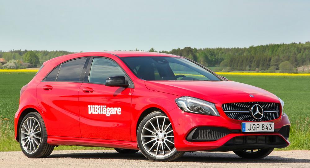 Tredje generationen Mercedes A-klass är lägre och har sportigare design än föregångarna.