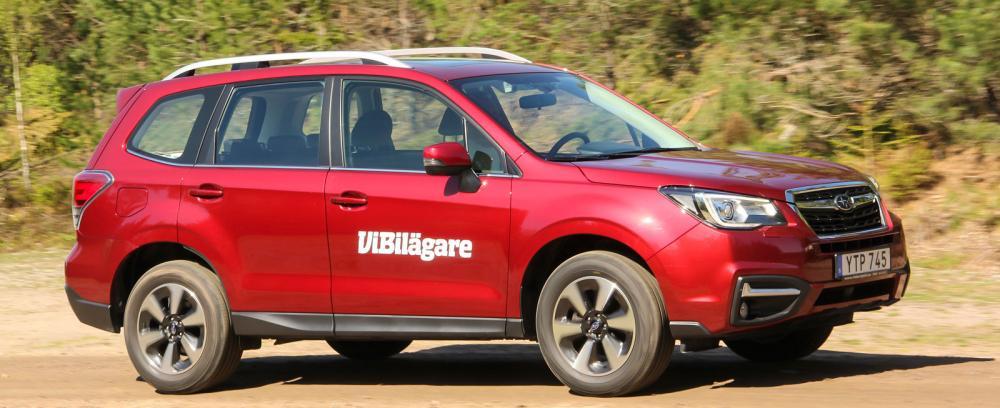 Subarus mellanstora suv Forester har sålts i drygt 20 år i Sverige. Här är fjärde generationen.