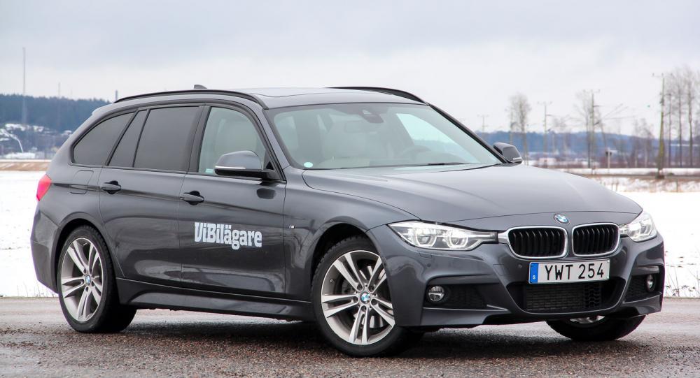 BMW 3-serie, här i Touringutförande, är både körglad och bekväm.
