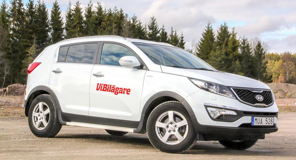 Snygg crossover-design präglar tredje generationen av Kia Sportage.