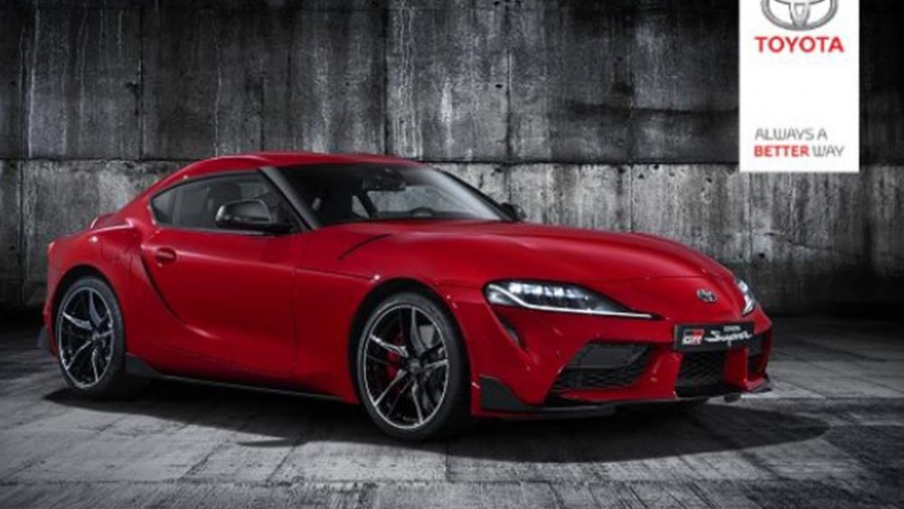 Bilder på nya Toyota Supra läckta