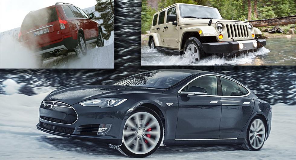 Begagnade Jeep, Tesla och Volvo sålde snabbast 2018