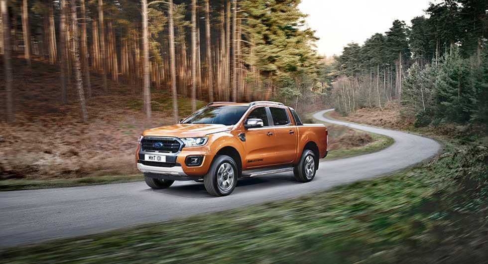 Ford förnyar Ranger