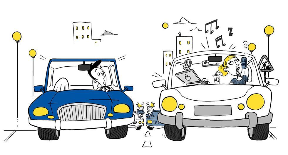 Rattsurfare mest skrämmande i trafiken