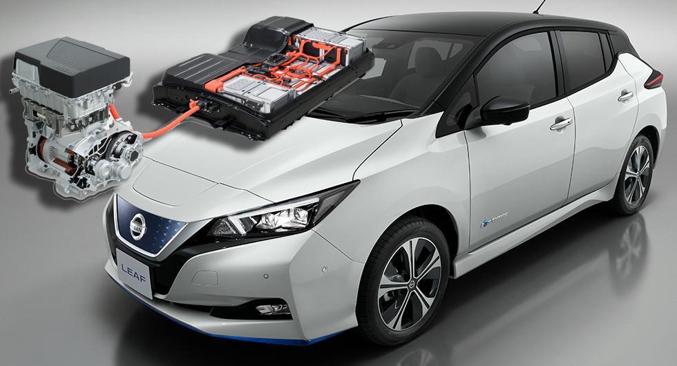 Nissan plussar på batteri i Leaf