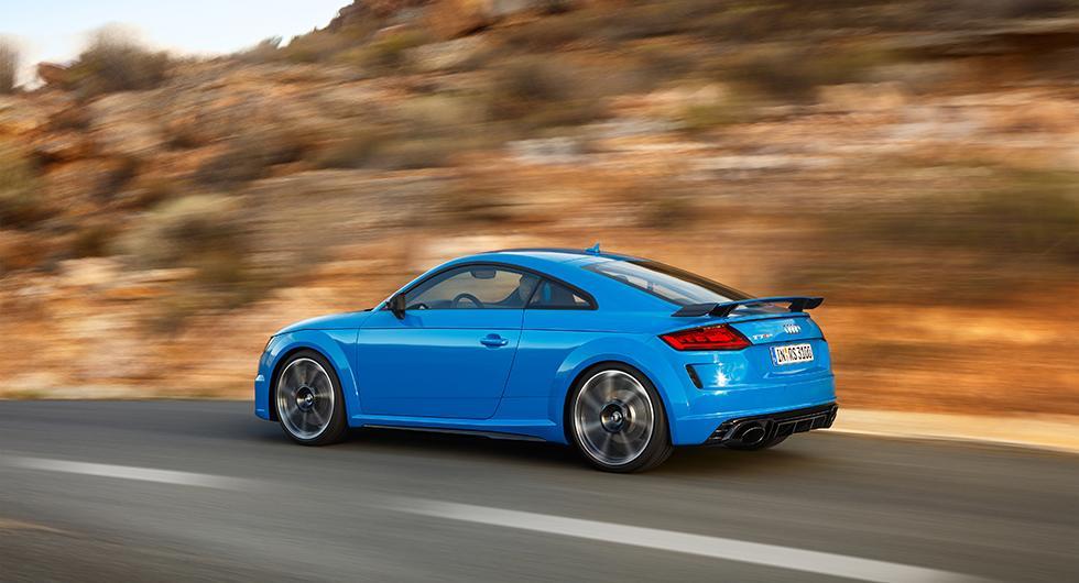 Audi TT RS mer maskulin