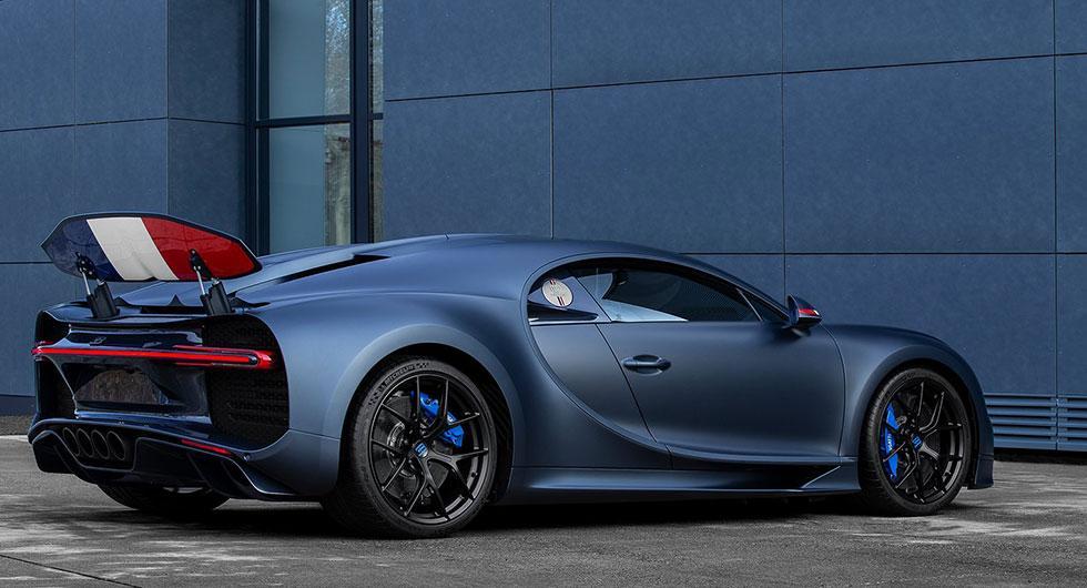 Bugatti flaggar franskt