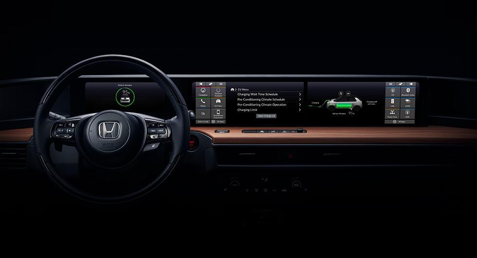 Insidan på Hondas elbil