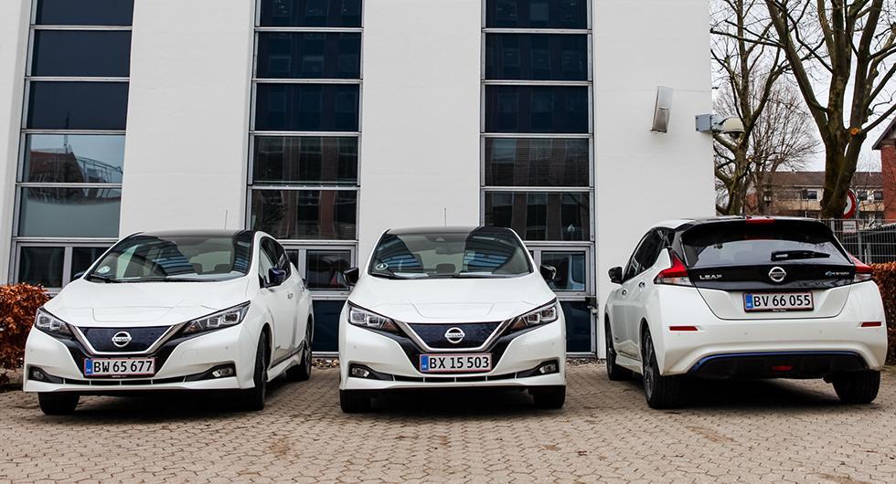 Nissan Leaf blev med sina 264 nyregistreringar i januari 2019, månadens mest populära elbil.