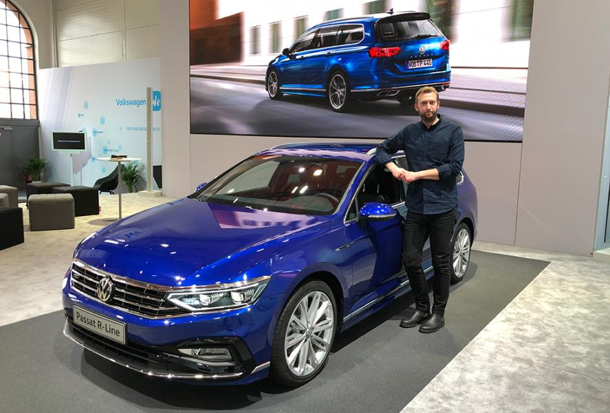 Volkswagen Passat facelift – rapport från premiären