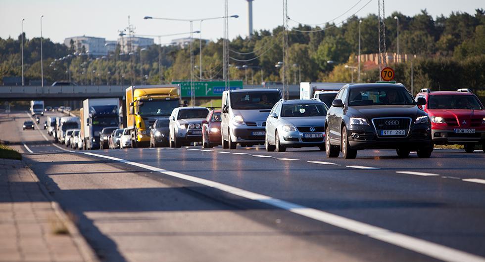 Utsläppen från vägtrafiken ökar