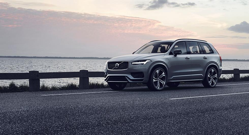 Volvo XC90 uppdateras