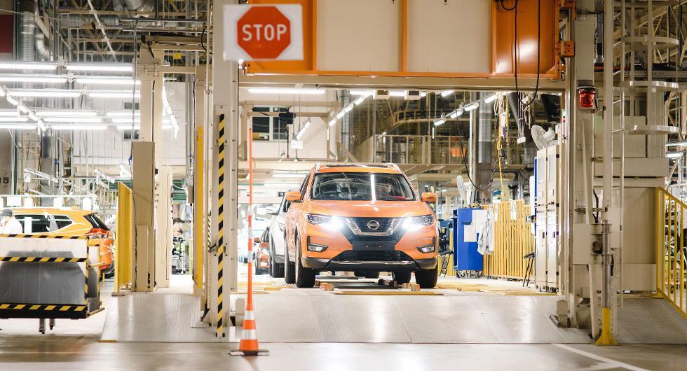 Nissan ångrar sig om bygget av X-Trail