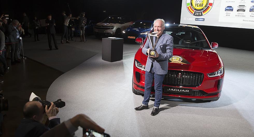 """Jaguar-bossen om Årets Bil 2019: """"Framtiden är elektrisk"""""""
