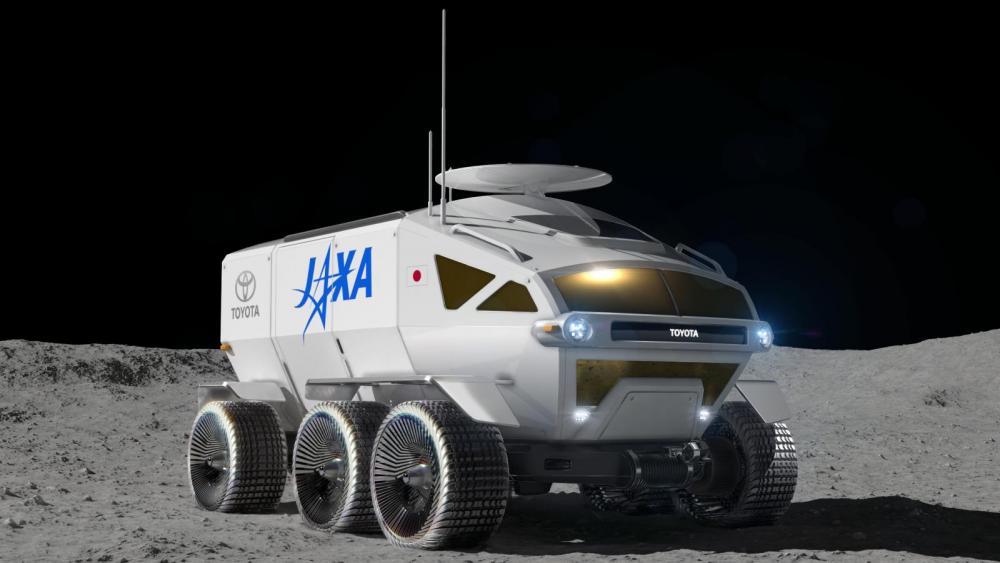 Japansk rymdbil siktar mot månen