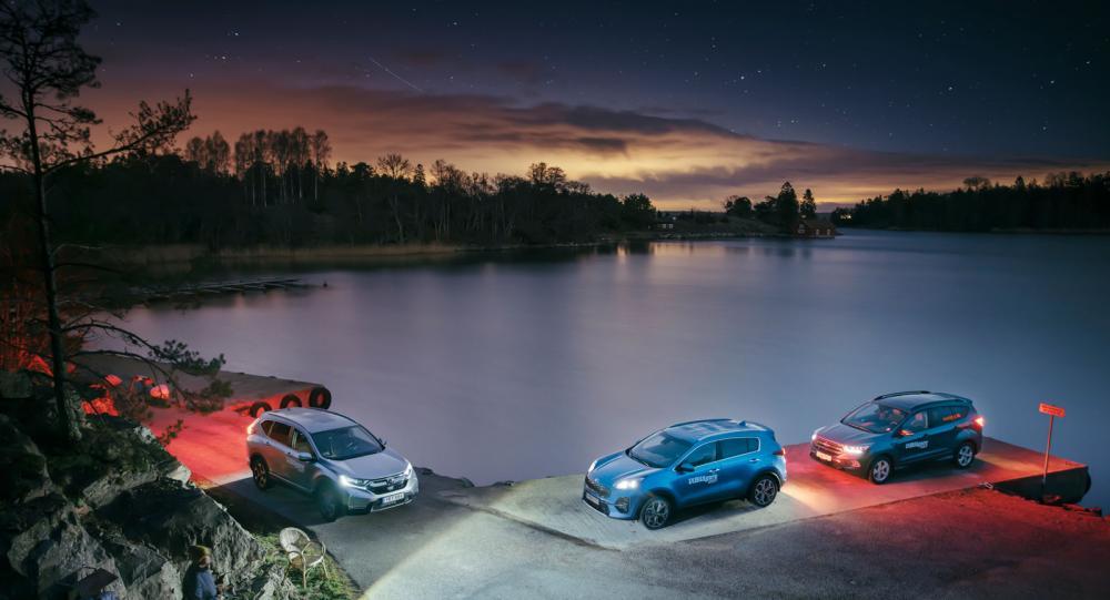 Test: Honda CR-V, Kia Sportage & Ford Kuga (2019)