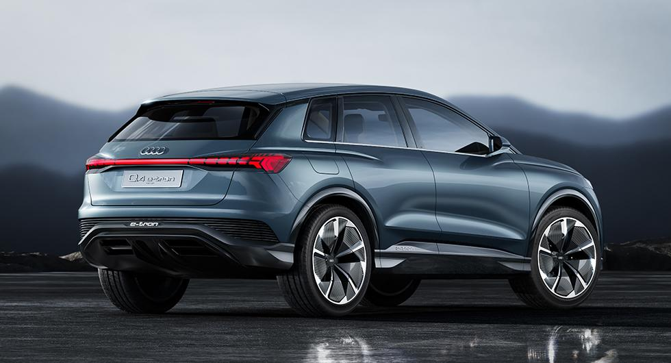 Q4 e-tron ny elbil från Audi