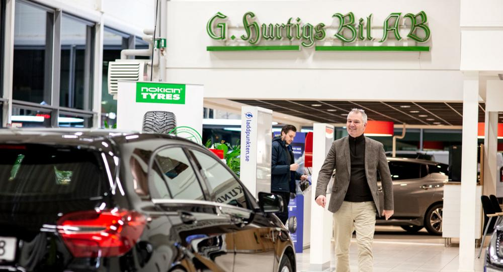 5% av alla elbilar från Kungälv