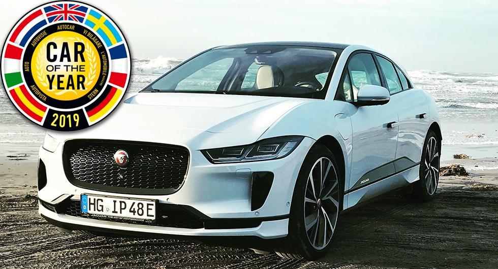 Jaguar I-Pace Årets Bil 2019