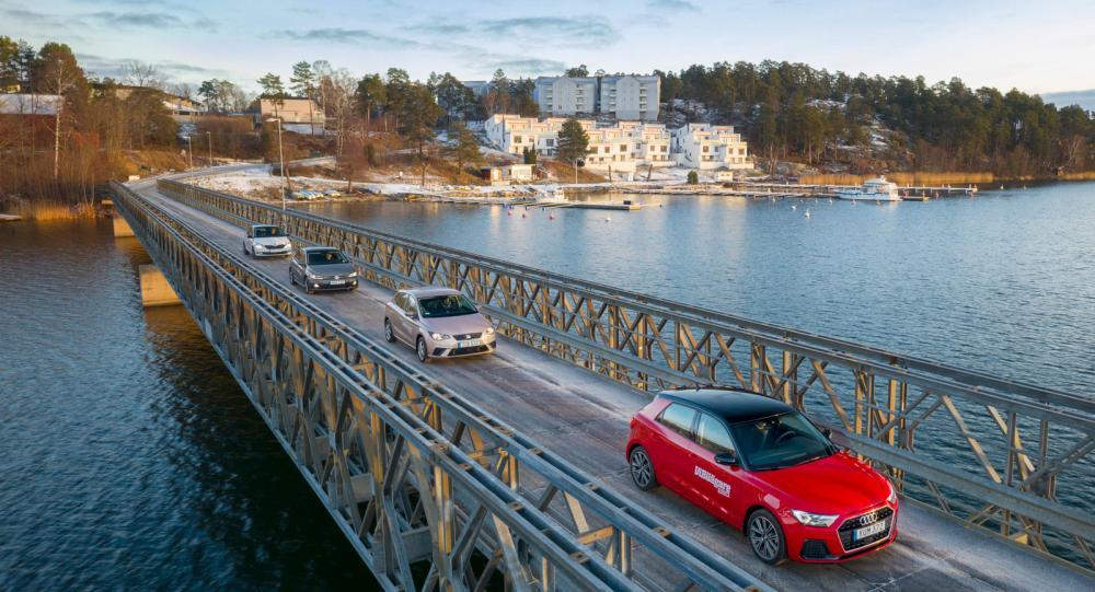 Ljustest: Audi A1, Seat Ibiza, Skoda Fabia & Volkswagen Polo (2019)