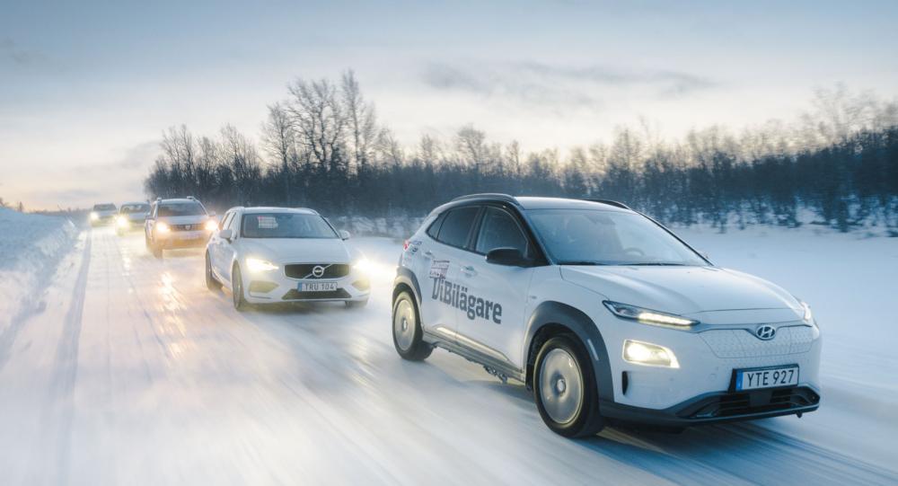 Ljustest: Audi A6, Dacia Duster, Ford Focus, Hyundai Kona och Volvo V60 (2019)
