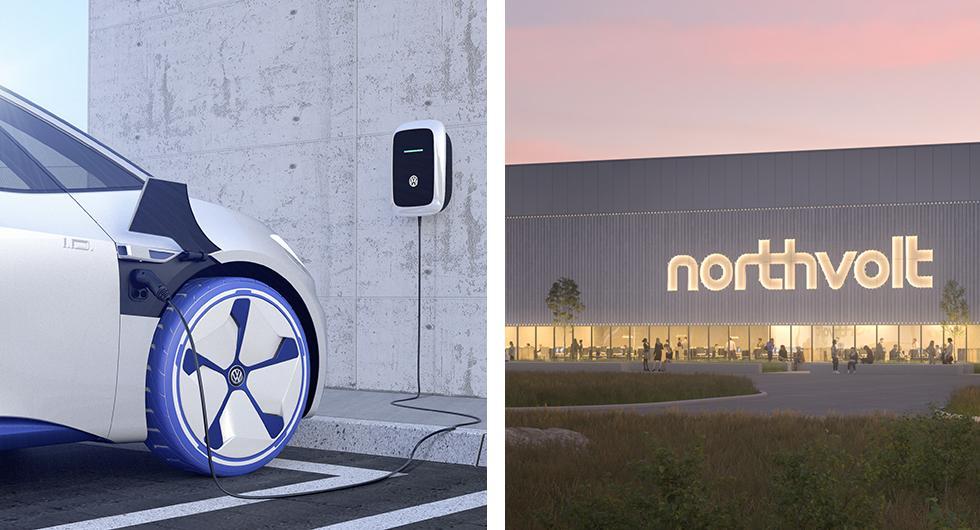 Northvolt i batteriallians med Volkswagen