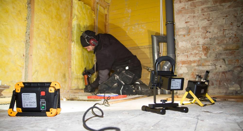 Sladdlöst är bra när det är strömlöst, även om vissa verktyg fortfarande kräver skarvsladd.